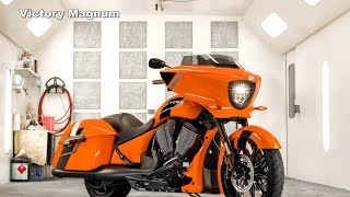 8. Victory's Boomin' Bagger is Back : 2017 Victory Magnum / Magnum X-1