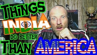 Video 10 Things INDIA Does Better Than AMERICA - REACTION MP3, 3GP, MP4, WEBM, AVI, FLV Maret 2018