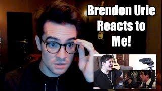 Video Brendon Urie Reacts to Me MP3, 3GP, MP4, WEBM, AVI, FLV Januari 2019