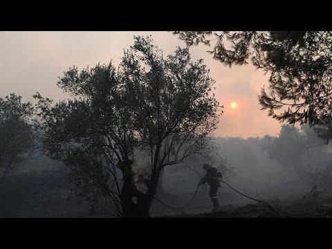 Σε κατάσταση έκτακτης ανάγκης η Εύβοια – Μαίνεται μεγάλη πυρκαγιά…