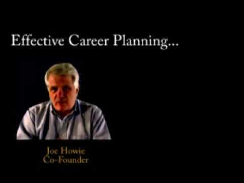 Eight Principles of Effective Career Planning - Joe Howie
