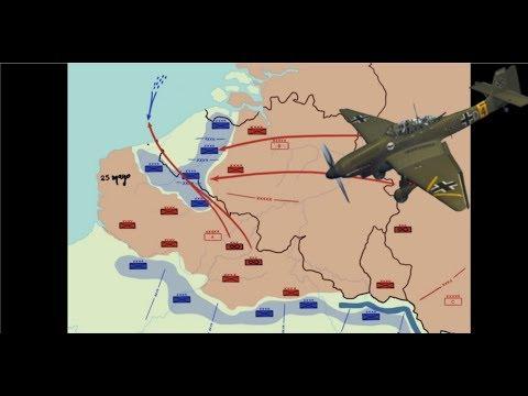 """Mis videos. """"La batalla de Dunquerque (1940). Error, no concentrar recursos""""."""