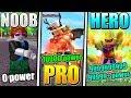 Noob Vs Pro Vs Superhero Roblox Super Power Training Si