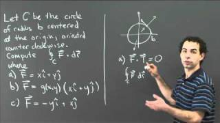Line Integrals By Geometric Reasoning | MIT 18.02SC Multivariable Calculus, Fall 2010