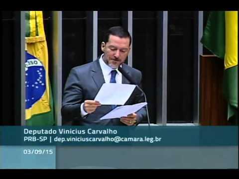 Na tribuna, Vinicius Carvalho faz críticas à diminuição da velocidade nas marginais pauliistas