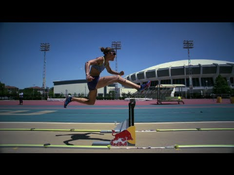 lolo jones - Track star Lolo Jones has a secret - and it's not what you think. Watch as she uses cutting edge technology to help in her training, in a sport where mere hu...