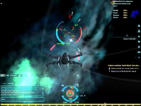 Star Wars Galaxies – Space Combat and Escort