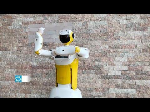 Sanbot max, service, robot