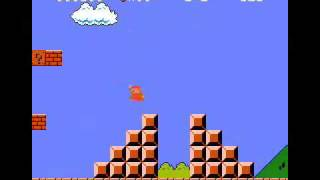 Guy Epically Fails At Super Mario Bros Trying Not To Touch The Ground