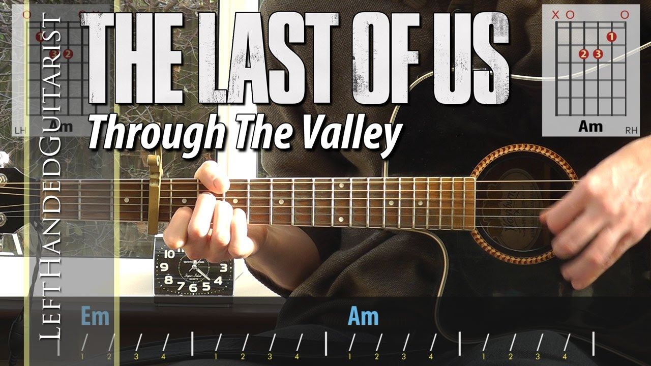 The Last Of Us – Through The Valley | guitar lesson with easy version