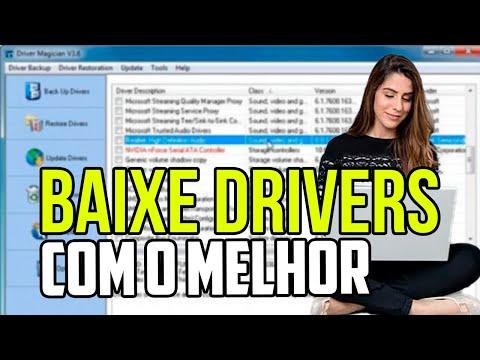Instalando drives com Driver Magician