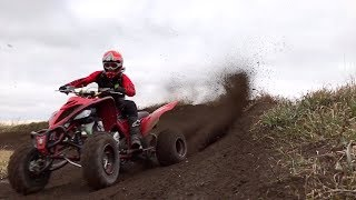 9. 2019 Raptor 700 Quad Vlog at Appleton ATV Park