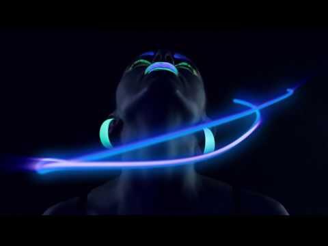 Цветные линзы Adria Neon - светятся в темноте! fun-club видео