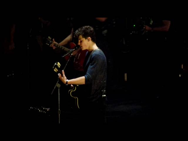 Shawn Mendes Dont Be A Fool New Song Live At Madison Square Garden