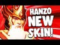 Hanzo HUANG ZHONG Skin for Overwatch Year of the Pig
