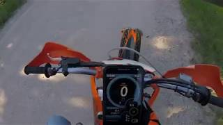 10. 2009 KTM 250 XC-F Top Speed