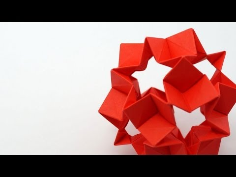 Kusudama Tutorial - 028