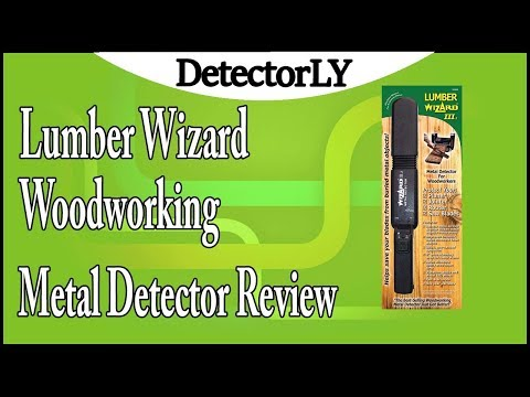 Lumber Wizard Woodworking Metal Detector Review