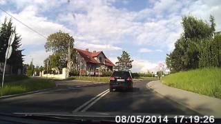 Pijany kierowca i zatrzymanie obywatelskie w Bielsku-Białej