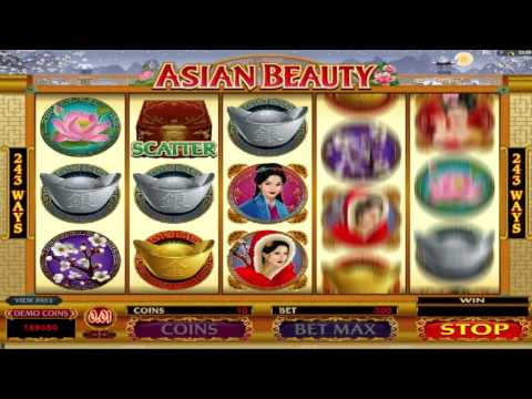 Asian Beauty ™ free slot machine game preview by Slotozilla.com