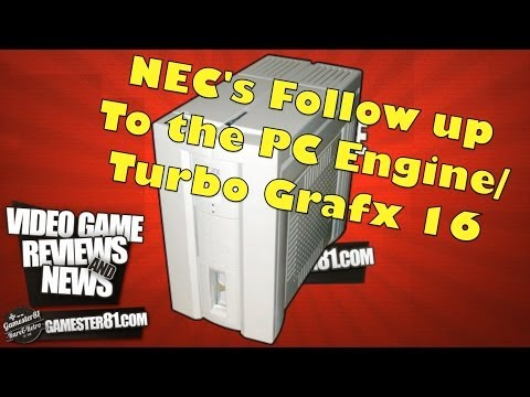 NEC PC-FX System Review - Gamester81