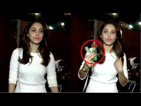 Nushrat Bharucha Spotted At Indigo Delicatessen Bandra
