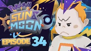 Pokémon Sun & Moon Let's Play w/ TheKingNappy! - Ep 34 TRIAL CAPTAIN NATHAN LOL by King Nappy