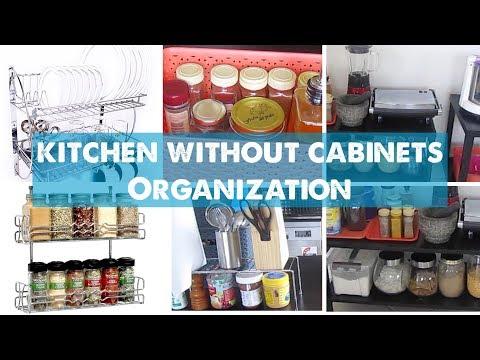 சமையலறை அமைப்பு ideas in Tamil | Kitchen without Cabinets Organisation