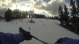 Stacja Narciarska SUCHE - styczeń 2014 Video