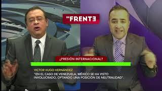 De Frente con Víctor Hugo Hernández y Luis Octavio Pineda.