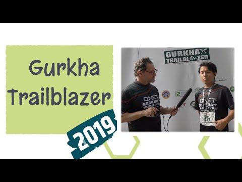 (Sujan Limbu a Nepalese Trail Runner   QNET Gurkha Trailblazer 12-kilometre race. - Duration: 3 minutes, 52 seconds.)