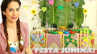 LINK PRO SITE DA YOKI: http://goo.gl/Y8tTyw Nesse vídeo eu ensino a fazer uma decoração linda e econômica pra uma festa...