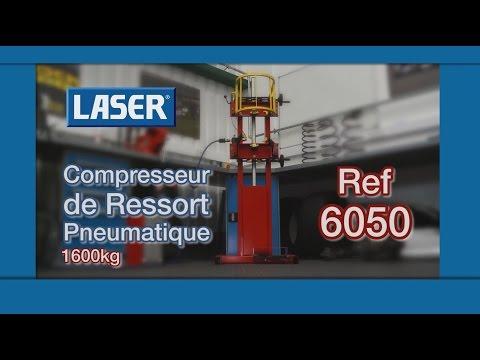 6050 | LASER Compresseur de Ressort Pneumatique 1600Kg