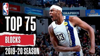 Top 75 Blocks | 2019-20 NBA Season by NBA
