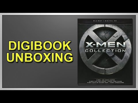 X-Men: Collection Blu-ray Digibook Unboxing