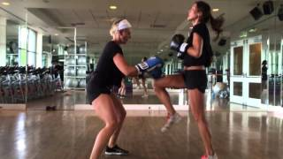 30 min partner boxing workout.  Move Your Asana® Fitness present BodyShots Boxing Bootcamp™