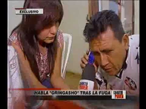 'Gringasho' declara en programa de televisión Cuarto Poder