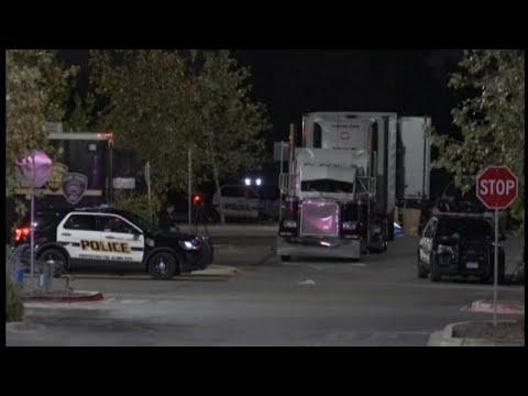 Imagens de calor - Oito pessoas mortas são encontradas dentro de caminhão no Texas