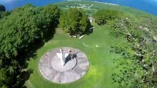 DJI Phantom 2 Vision + / My cousin Melchor & his loving wife Josie in Saipan Suicide Cliff ........November 15, 2014.
