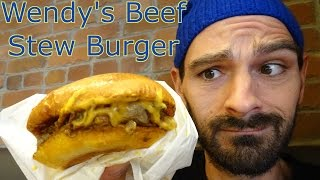 A Brioche Bistro Beef Stew Burger from Wendy's? Sure why not, I know some of those words. More about this video :: http://kydeanderic.com Support us at Patre...