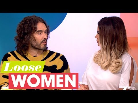Russell Brand Gives Katie Price Advice For Dealing With Her Husband's Addiction   Loose Women