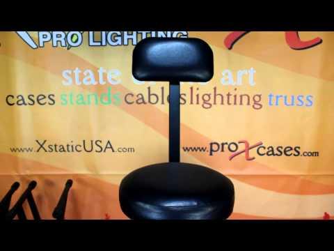ProX T-Djchair Portable DJ Drummer Guitar Musician Chair Stool Stand Review by Paul Xstatic Pro Gear