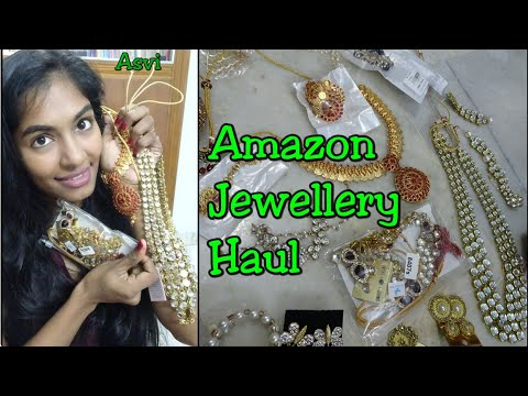 Must have jewellery for wedding season|Affordable yet best quality jewellery from Amazon|Asvi