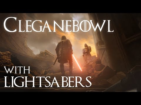 Game of Thrones with Lightsabers Cleganebowl