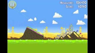 Angry Birds Seasons Summer Pignic Level 18 Walkthrough 3 Star