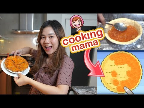 NGIKUTIN RESEP COOKING MAMA IN REAL LIFE  !!!