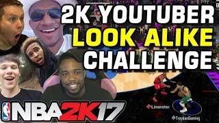NBA2K YOUTUBER LOOK ALIKE CHALLENGE