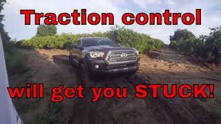10. 2017 Tacoma traction control