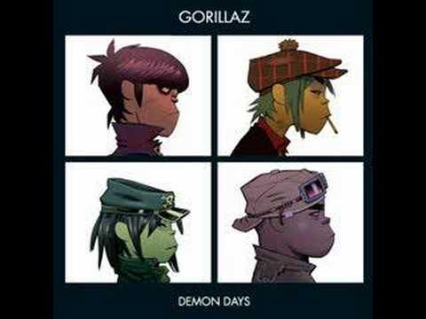 Tekst piosenki Gorillaz - Demon Days po polsku