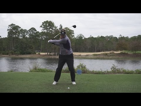 ANNA NORDQVIST – FACE ON DRIVER SWING REG & SLOW MOTION TIBURON GOLF COURSE 2014 CME 1080p HD